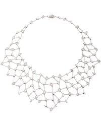 YEPREM - Snowflakes Diamond Necklace - Lyst