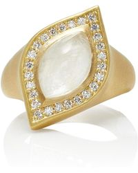Jamie Wolf - M'o Exclusive Marquis Shaped Ring - Lyst