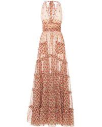 MO Exclusive Linen Stripes Mini Dress Luisa Beccaria 8n7EP