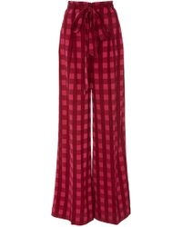 Temperley London - Stirling Check Trouser - Lyst