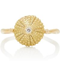 Charlotte Wendes - Sea Urchin Shell Ring - Lyst