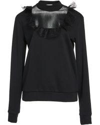 Dondup - Lace Combo Sweatshirt - Lyst