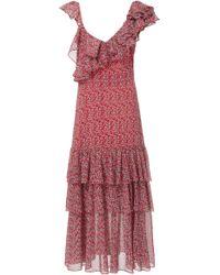 Marissa Webb - Lisandra Print Dress - Lyst