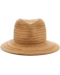 Albertus Swanepoel - Exclusive Woven Straw Fedora - Lyst
