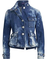 Ralph Lauren - Isabele Denim Safari Jacket - Lyst
