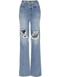 Khaite - Danielle High-rise Distressed Jeans - Lyst