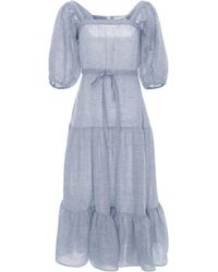 Co. - Tiered Short Sleeve Dress - Lyst