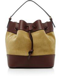 Loewe - Midnight Calfskin Bucket Bag - Lyst
