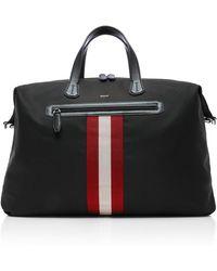 Bally - Striped Weekender Bag - Lyst