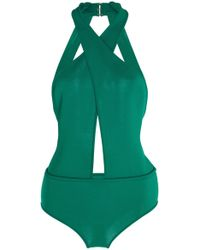 Elie Saab - Knitted Bodysuit - Lyst