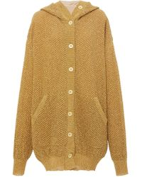 Tre by Natalie Ratabesi - Gold Honeycomb Sweater - Lyst