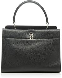 Michino Paris Honore Mm Bag In Grained Leather