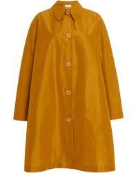 Mansur Gavriel - Cotton And Silk-blend Taffeta Coat - Lyst