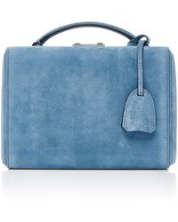 Mark Cross - Grace Small Suede Box Bag - Lyst