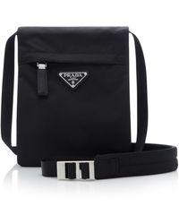 Prada - Small Technical Crossbody Bag - Lyst