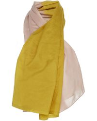 TOME - Silk Dual Toned Scarf - Lyst
