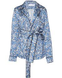 Victoria, Victoria Beckham - Printed Pajama Shirt - Lyst