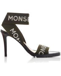 Monse - Logo-printed Canvas Sandals - Lyst