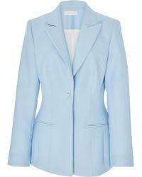 Partow - Theron Wool-silk Jacket - Lyst