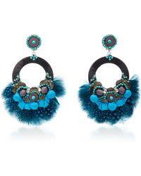 Ranjana Khan | Embellished Circle Earrings | Lyst