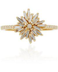 Suzanne Kalan - 18k Gold Diamond Ring - Lyst
