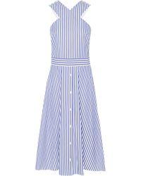 MDS Stripes - Exclusive Criss Cross Dress - Lyst