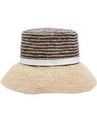 Sensi Studio - Hippie Lamp-shaped Woven Toquilla Hat - Lyst d5cfee70e96c