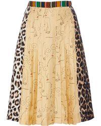 La Prestic Ouiston - Sagan Print Skirt - Lyst