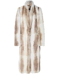 Sally Lapointe - Faux Fur Coat - Lyst