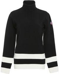 Fusalp - Ubac Striped Turtleneck Sweater - Lyst