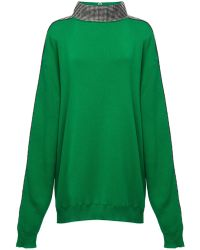 Christopher Kane - Ribbed Cotton Pullover Dress - Lyst