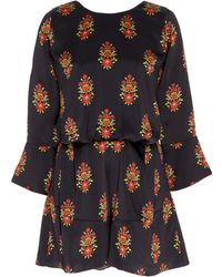 Seren London - Baby Gee Mini Printed Playsuit - Lyst