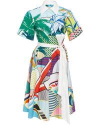 Mary Katrantzou - Cecilia Shirt Dress - Lyst