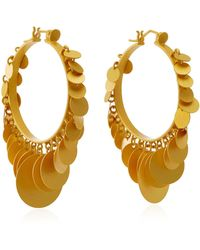 Paula Mendoza | Embera Gold-plated Brass Hoop Earrings | Lyst