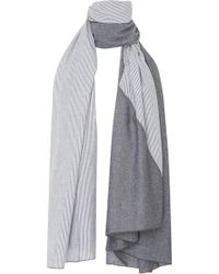 Donni Charm - Donni Diagonal Cotton Scarf - Lyst