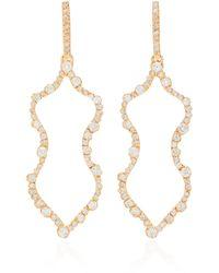 Kimberly Mcdonald - 18k Rose Gold Diamond Earrings - Lyst