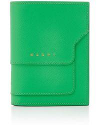 Marni - Portafoglio Leather Billfold Wallet - Lyst