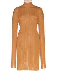af1d0d83048 Isabel Marant Rholmy Mockneck Denim Dress in Blue - Lyst