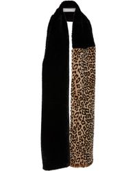DONNI. - Faux Fierce Rectangle Scarf - Lyst