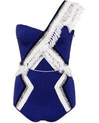 Tabula Rasa   Binu Crochet One Piece Swimsuit   Lyst