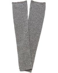 The Elder Statesman - M'o Exclusive Thigh High Leg Warmer - Lyst