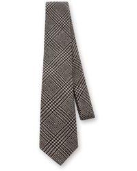Ralph Lauren - Wool Glenplaid Neck Tie - Lyst