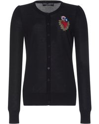 Dolce & Gabbana | All Of The Lovers Cardigan | Lyst