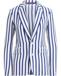 Ralph Lauren - Yvette Striped Silk Jacket - Lyst