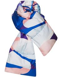 Emilio Pucci - Quilted Printed Scarf - Lyst