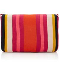 Paule Ka - Striped Shoulder Bag - Lyst