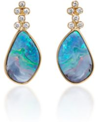 Katherine Jetter - Classic Opal Earrings - Lyst