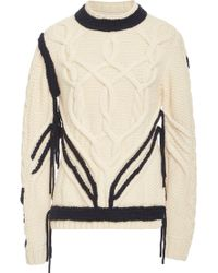 Orley - Sonnier Cableknit Sweater - Lyst