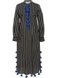 Figue - Paolina Striped Cotton Kaftan - Lyst