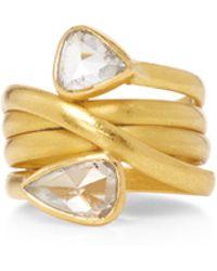 Sanjay Kasliwal - Universal Double Diamond Ring - Lyst